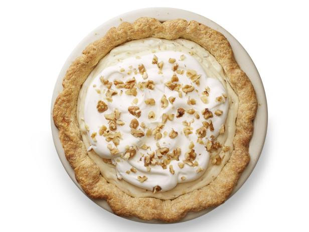 Maple-Walnut Cream Pie