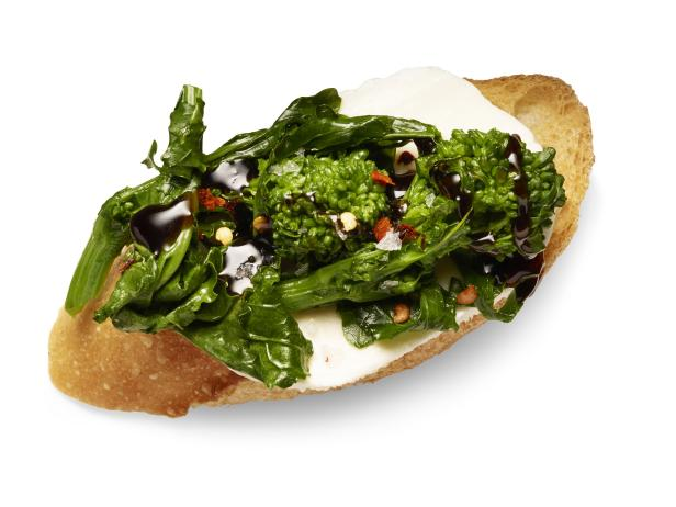 Broccoli Rabe Crostini