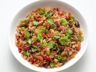 Cajun Crawfish Fried Rice