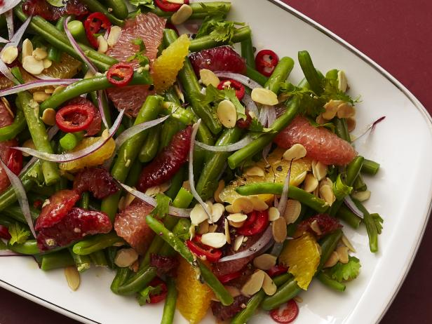 Green Bean-Citrus Salad with Almonds