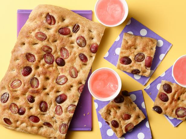 Kids Can Bake: Sweet Grape Focaccia Bread
