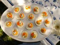 Deviled Eggs with Caviar