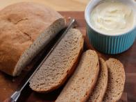 Rustic Country Bread with Honey Butter