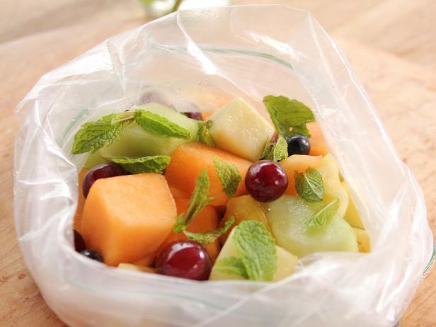 Zipper Bag Fruit Salad