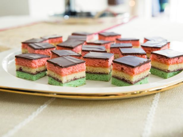 Neapolitan Holiday Cookies