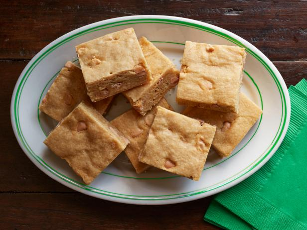 Butterscotch-Bourbon Blondies