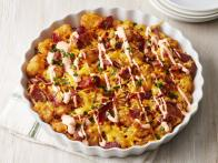 Cheesy Bacon-Tater Tot Pie