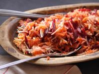 Shredded Beet and Carrot Salad