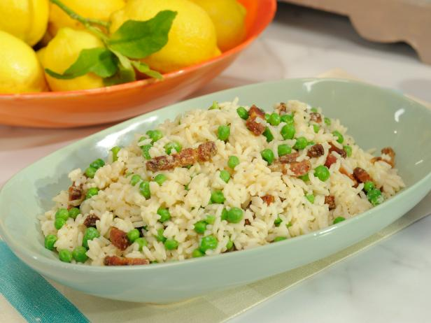 Rice with Peas and Bacon