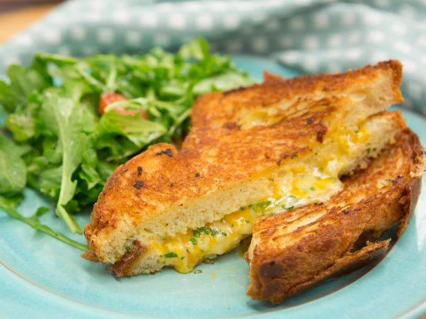 Buttery Brioche Grilled Cheese