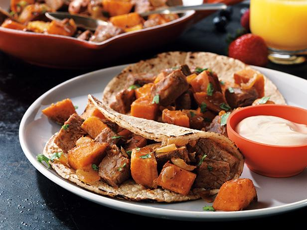Beefy Sweet Potato Hash