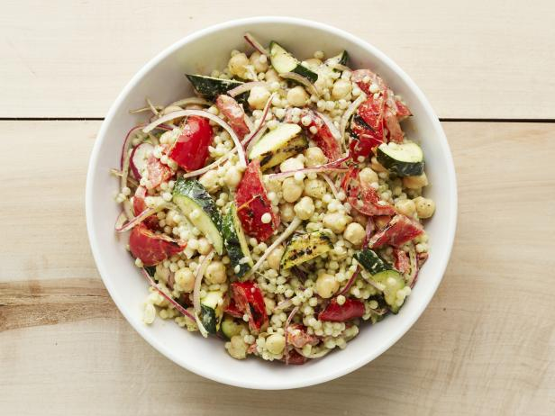 Grilled Vegetable-Couscous Salad