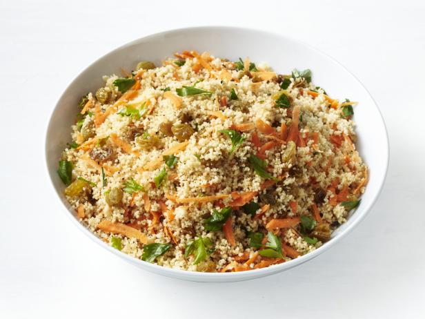 Carrot and Raisin Couscous