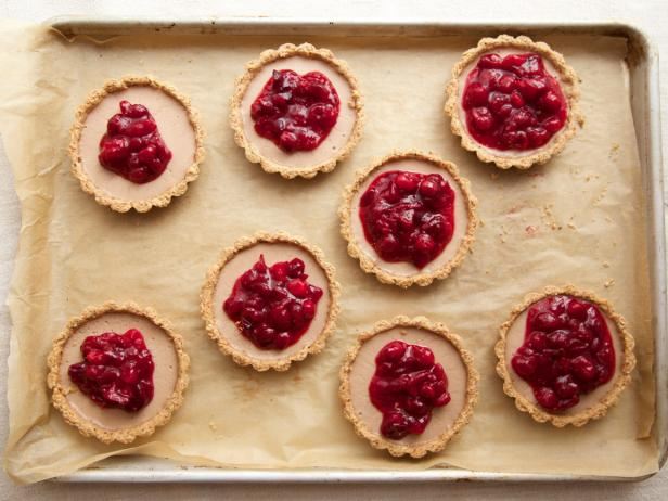 Gluten-Free, Vegan Cranberry-Almond Tartlets