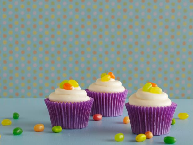 Citrus Cupcakes with White Chocolate Frosting