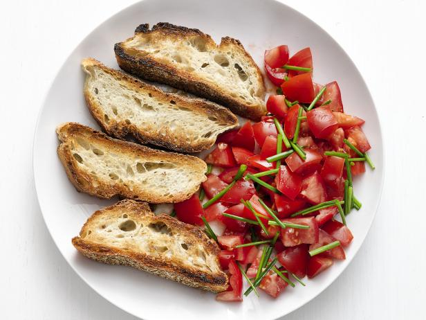 Tomatoes with Crusty Bread