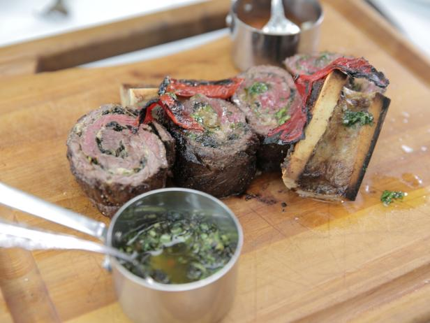 Wagyu Skirt Steak Roulade