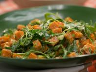 Sweet Potato and Arugula Salad
