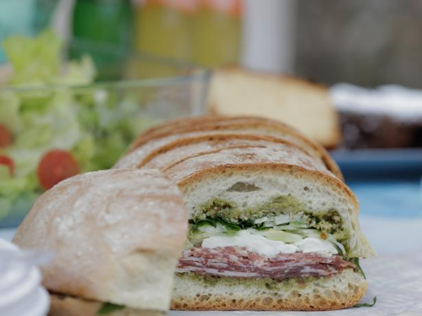 Marinated Salumi Sandwich