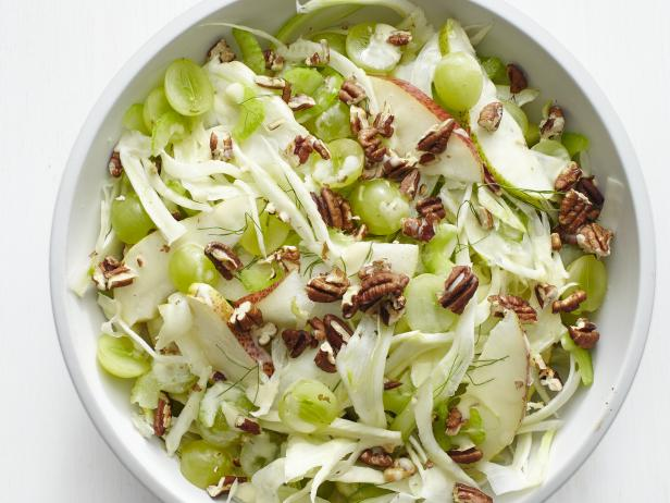 fennel pear salad with grapes and pecans - Ina Garten Fennel Salad