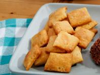 Cheesy Cereal Crackers