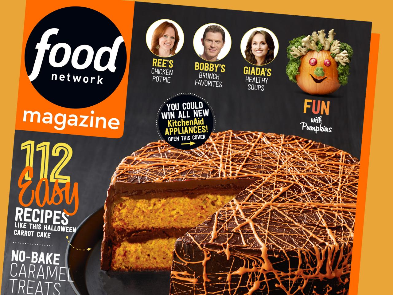 Food network magazine october 2015 recipe index food for October recipes