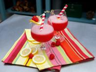 Frozen Raspberry and Vodka Lemonade