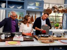 Try these clever shortcuts and tricks from the cast of The Kitchen the next time you need to need to reheat a slice of pizza or cool down a six-pack fast.