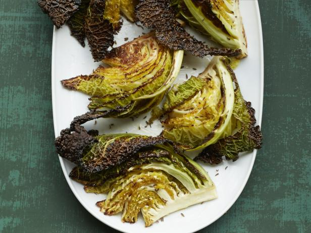 Charred Caraway Cabbage
