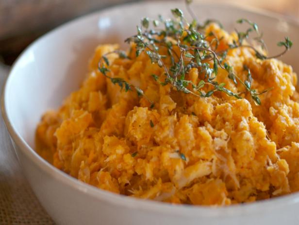 Root Vegetable Mash with Thyme Brown Butter