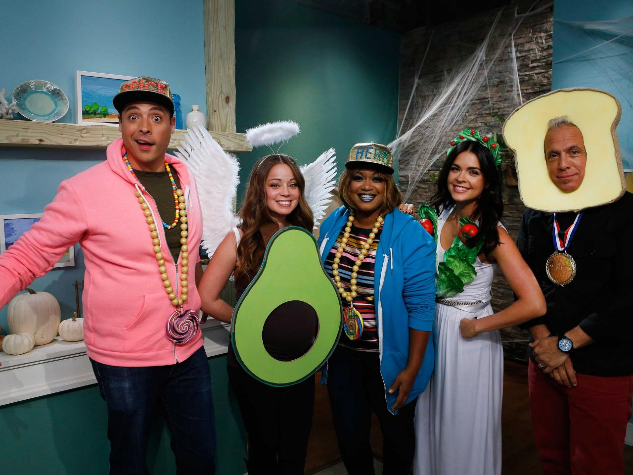 The Kitchen Food Network Cast halloween: diy food-inspired halloween costumes | the kitchen