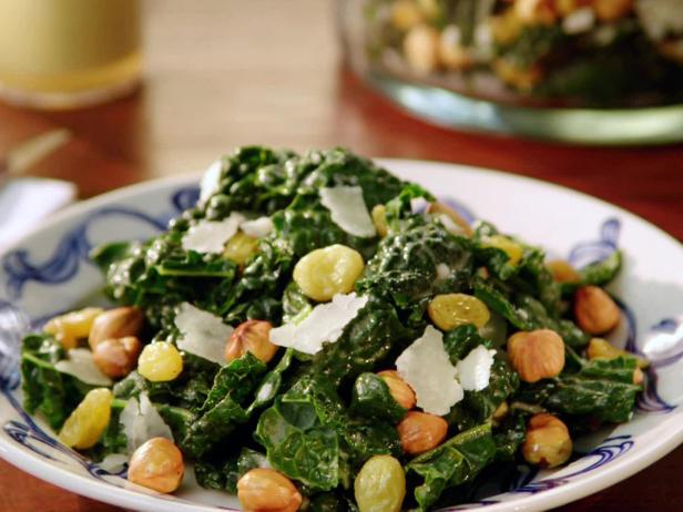 Tuscan Kale Salad with Anchovy Dressing