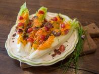 Wedge Salad with Carrot-Ginger Dressing