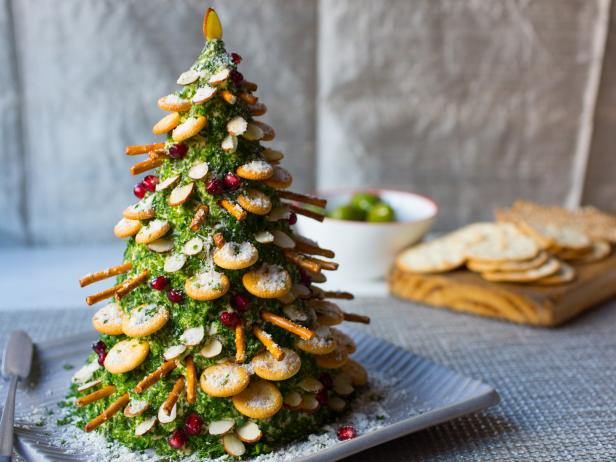 Cheese And Crackers Christmas Tree Recipe