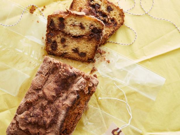 Sour Cream Chocolate Chip Nut Loaf