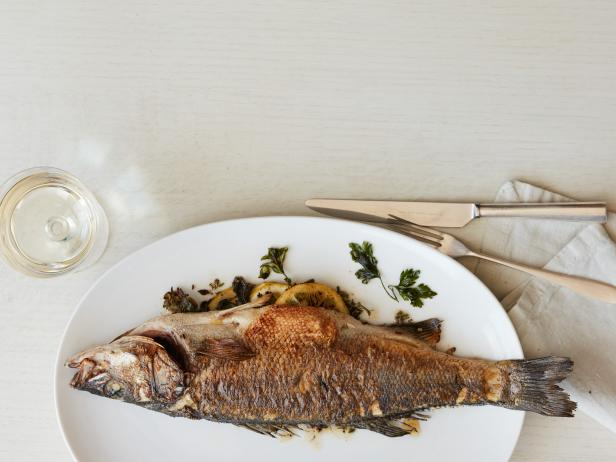 Herb-Stuffed Whole Fish