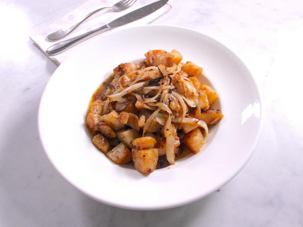 Sauteed Potatoes and Onions