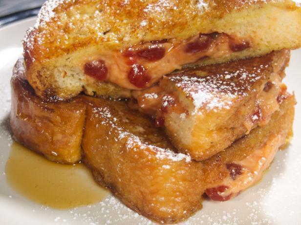 Guava-and-Cheese-Stuffed French Toast