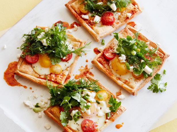 Kids Can Make: Baked Egg-and-Harissa Tarts