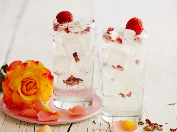 Rosewater Gin and Tonic