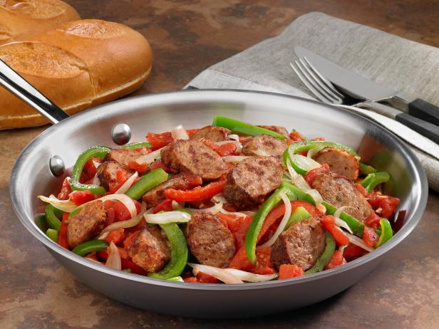 Johnsonville Italian Sausage, Onions and Peppers Skillet