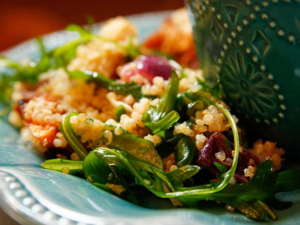Quinoa with Buttery Roasted Vegetables