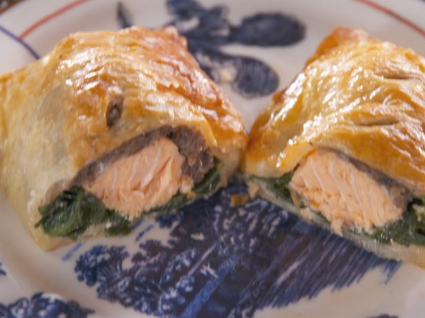 Salmon Wellingtons