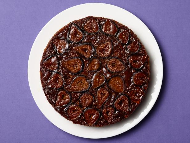 Upside-Down Fig-and-Hazelnut Cake