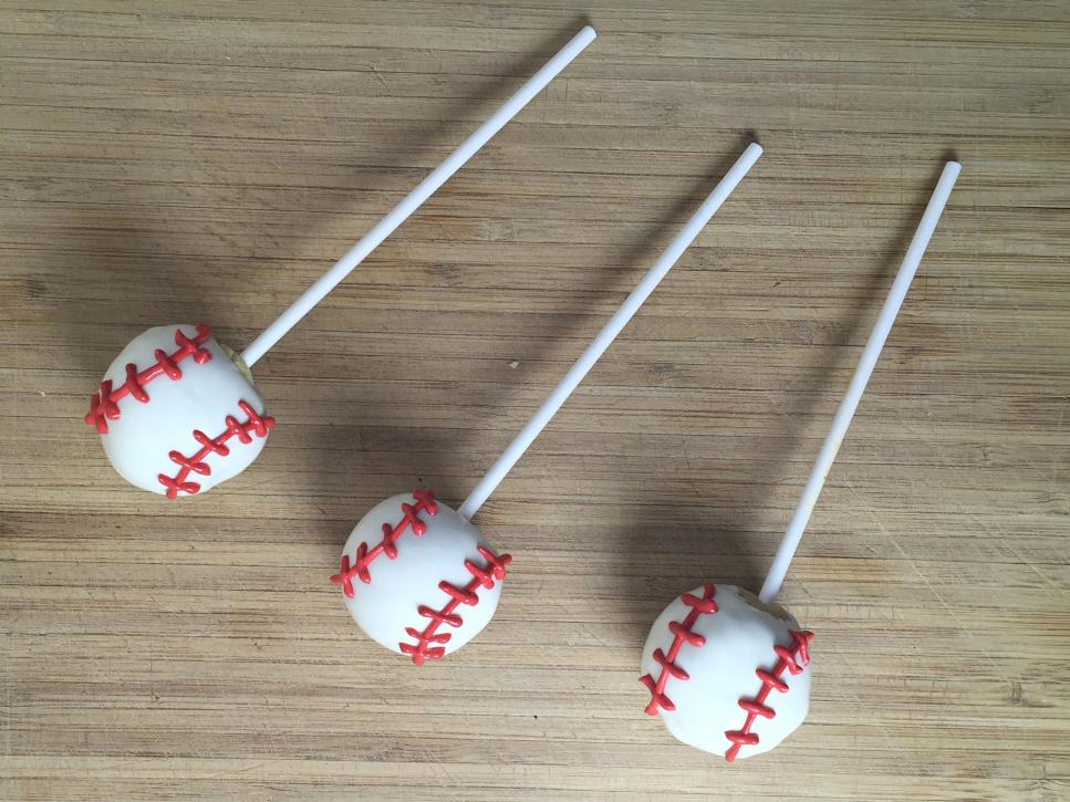 How To Make Baseball Cake Pops