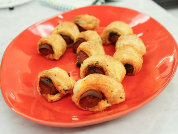 Puff Pastry-Wrapped Chorizo