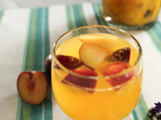 White Stone Fruit Sangria