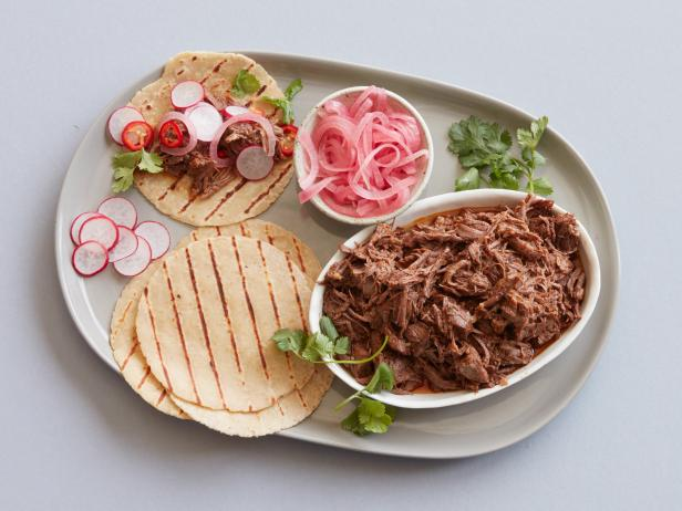 Grilled Beef Barbacoa Tacos