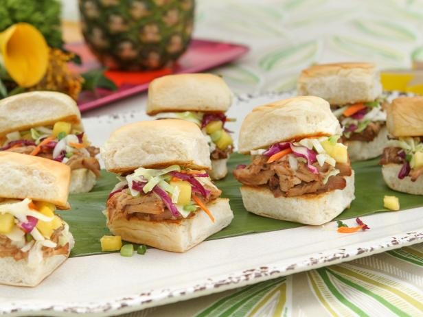 Food Network Pulled Pork Sliders