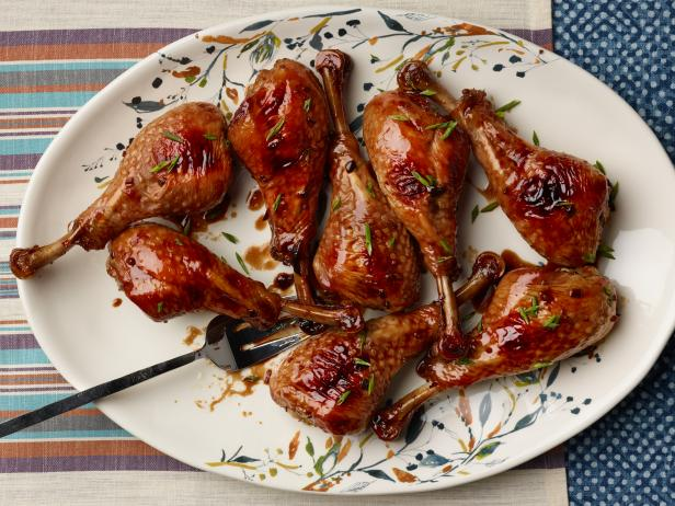 Brown Sugar-Soy Turkey Legs
